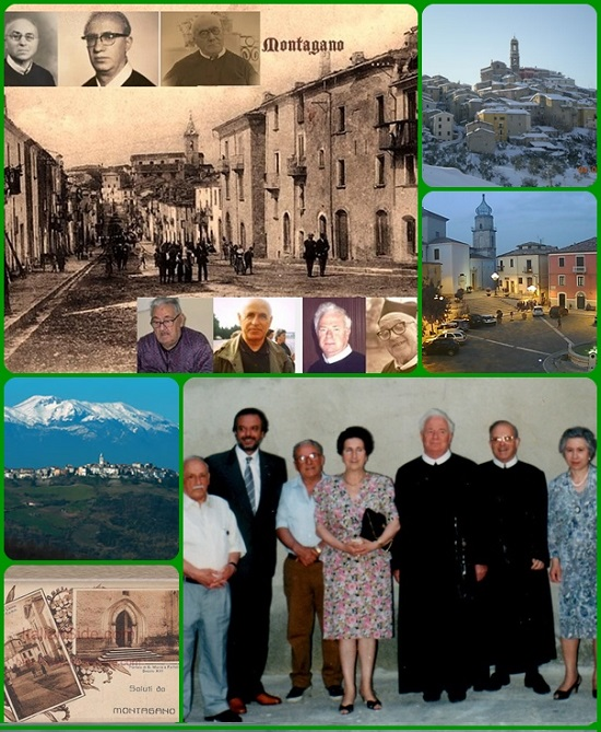 Montagano oggi è un paese di  1.168 abitanti della provincia di Campobasso,  patria di diversi Missionari Redentoristi .un suo arciprete chiamato Damiano Petrone penitenza a peccatori che di piantare un numero determinato di certi
