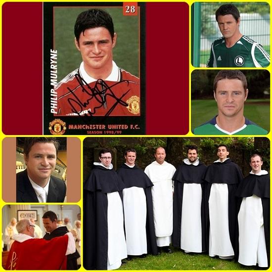 Dopo una carriera di successo nel calcio professionistico, Philip Mulryne ha sorpreso i suoi ex colleghi con la sua decisione. Intanto ha fatto la sua prima professione dei voti religiosi.