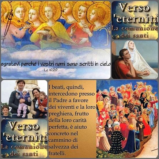 La comunione dei Santi: un concetto che sembra così lontano, ma che è così vicino. - I fedeli ulla terra, le anime del purgatorio e i santi del cielo formano una sola famiglia di Dio che vivono in santa comunione.