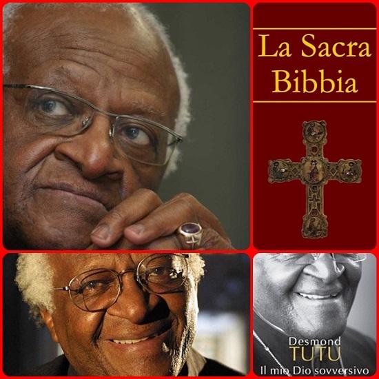 La Bibbia: il libro che ha cambiato la storia umana, e in Sud Africa ce lo hanno portato i missionari. Desmond Tutu, arcivescovo anglicano premio Nobel per la pace nel 1984, lo afferma ne suo libro «Il mio Dio sovversivo».