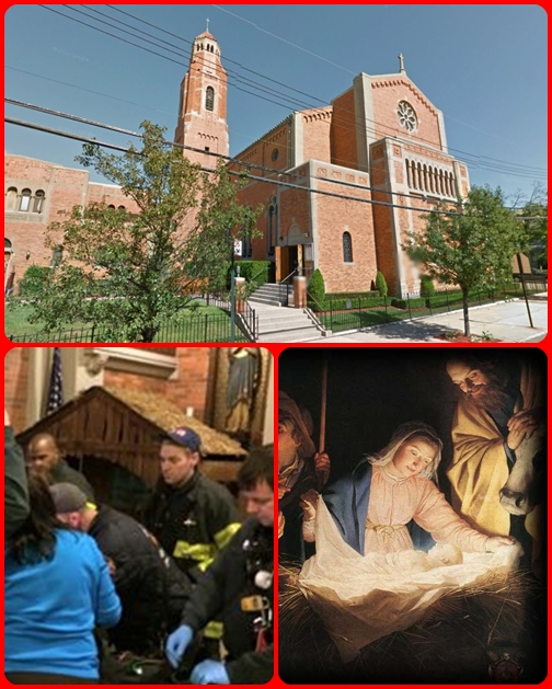Neonati abbandonati - Secondo la legge dello Stato di New York, fino a quando un bambino viene lasciato in un luogo sicuro, non è un crimine abbandonarlo. La chiesa è considerata un rifugio sicuro dalla legge statale.