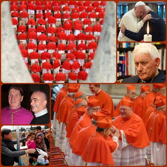 Oggi alle ore 11 nella basilica di San Pietro, Papa Francesco presiederà il suo terzo Concistoro, per la creazione di 17 nuovi cardinali. Tra di essi un Redentorista e 4 anziani scelti per gratitudine alla loro testimonianza, come il sacerdote albanese don Ernest Simoni, che Papa Francesco ha onorato cme martire del nostro tempo