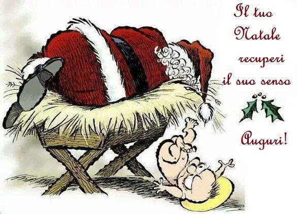 Recuperare l'autentico senso del Natale, superando le infinite tentazioni di un consumismo senza freni.