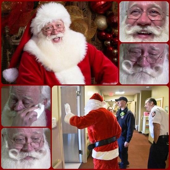 un bambino americano, malato terminale, esprime l'ultimo desiderio: vedere Babbo Natale; viene accontentato e muore contento tra le sue braccia. Ed a piangere questa volta è lo stesso Babbo Natale, impersonato da un uomo che il Babbo Natale lo fa per professione.