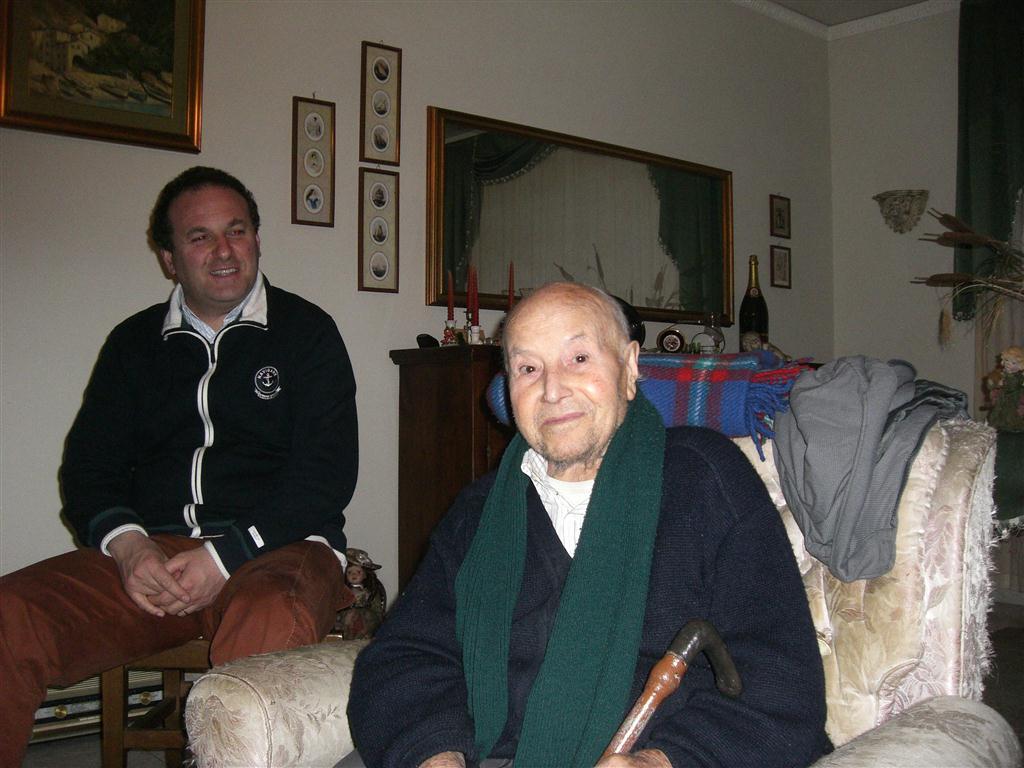 28 febbraio 2010 - Mastro Masquale racconta l'esperienza dello scoppio e dell'incendio.
