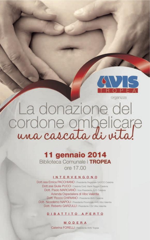 Iniziativa AVIS: Tropea 11 gennaio 2014