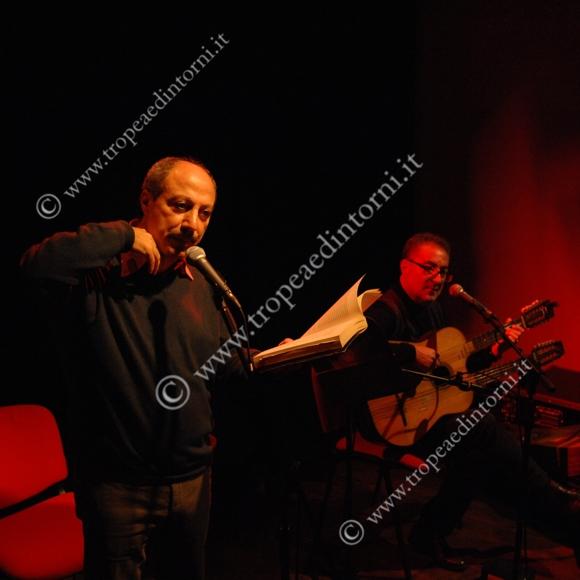 Carmine Abate e Cataldo Perri al PremioTropea - foto Libertino