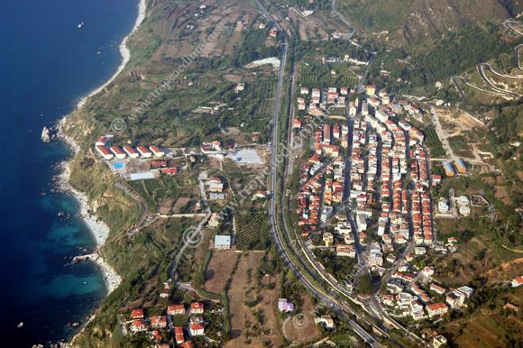 Veduta aerea di Parghelia - foto Libertino