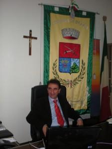 Il sindaco di Drapia Alessandro Porcelli