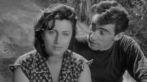 Anna Magnani e Walter Chiari foto internet