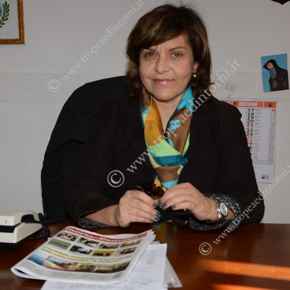 Il Commissario Anna Aurora Colosimo a palazzo S. Anna - foto Libertino