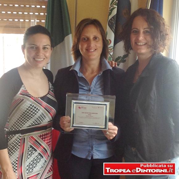 L'Assessore alla Cultura e Turismo Anna Sambiase, il Sindaco Maria Brosio, il vice Sindaco, Romina Loiacono