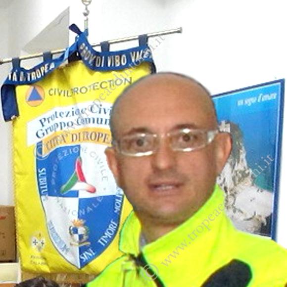 Paolo Ascanio, Volontario del gruppo di Protezione Civile Tropea - foto Libertino