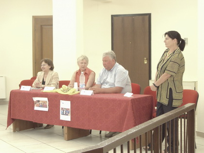 Il Dottor Shapurou Uladzimir al tavolo dei relatori - foto Sorbilli