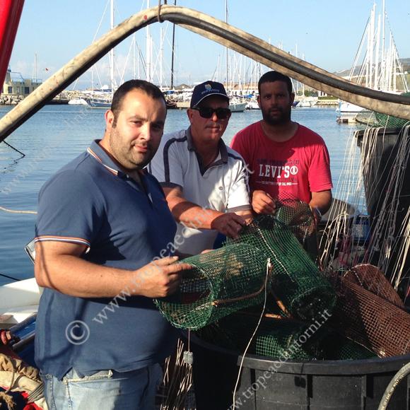 I pescatori della cooperativa di Tropea
