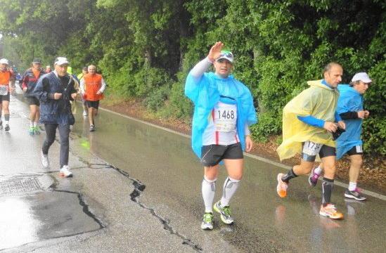 L'atletica San Costantino Calabro alla 100 km del Passatore