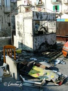 Atto vandalico a Tropea 17-6-2011 -foto Libertino