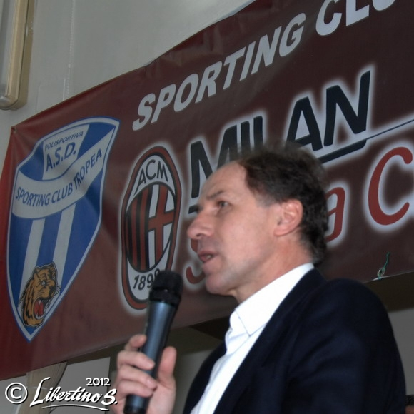Franco Baresi a Tropea - foto Libertino
