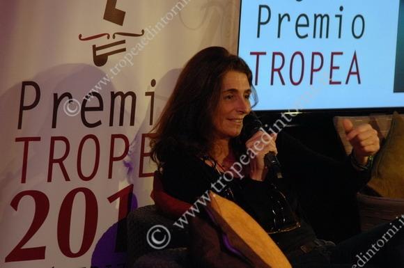 """Benedetta Cibrario finalista al """"Premio Tropea"""" VI ed.  foto Libertino"""
