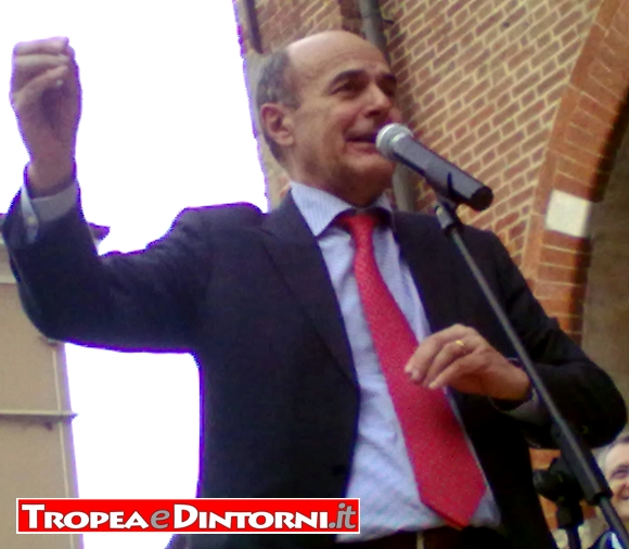 Pier Luigi Bersani -foto Grillo
