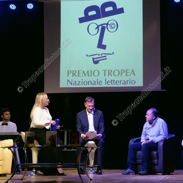 Livia Blasi, Michele Cucuzza, Nicola Gratteri - foto Libertino