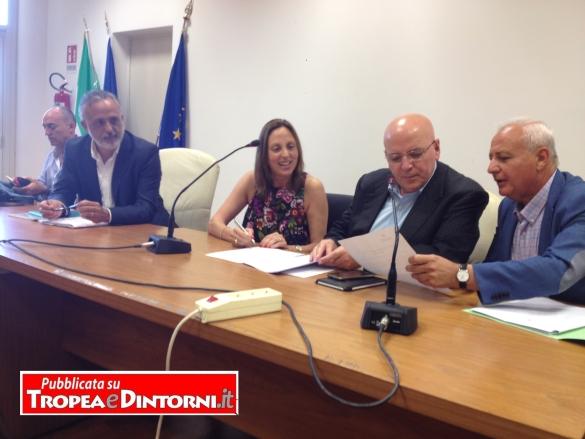Presso la cittadella regionale alla presenza del Presidente della Regione On. Mario Oliverio, sottoscritta la convenzione