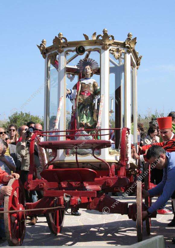 Il carro di Sant'Efisio
