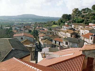 Un panorama di Calimera, frazione di San Calogero