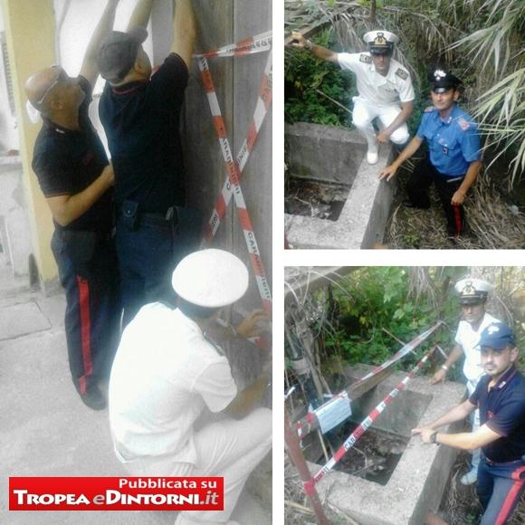 Carabinieri e Guardia Costiera sequestrano lavanderia di un villaggio turistico a Briatico