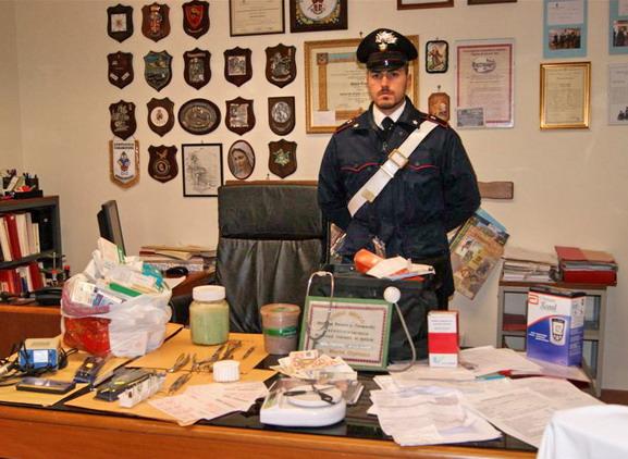 Ufficio Carabinieri della stazione di Zungri