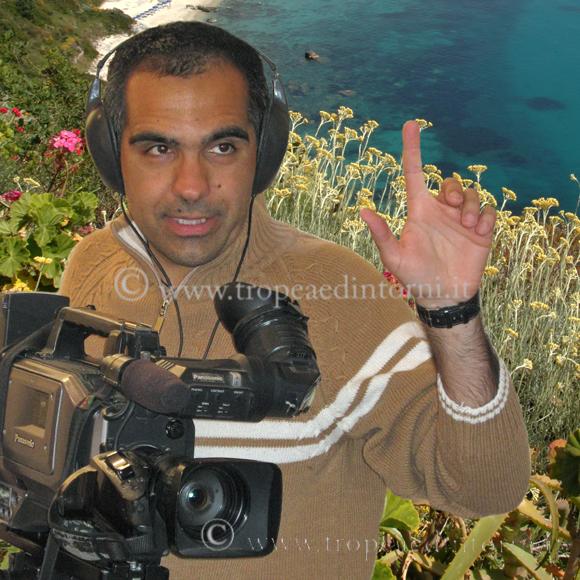 Il regista tropeano Enzo Carone - foto Libertino