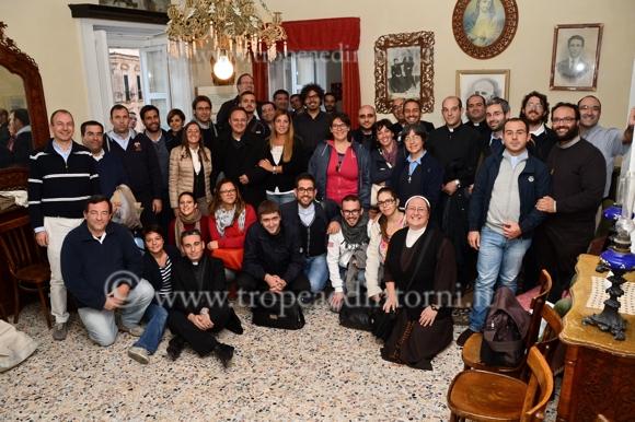 La visita nella casa del Venerabile Servo di Dio don Mottola - foto Libertino