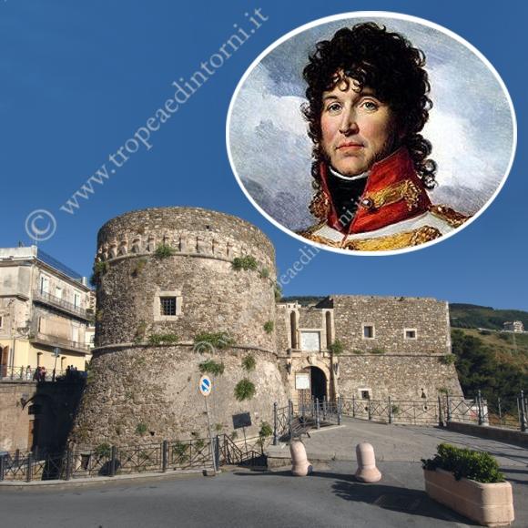 """Il castello di Pizzo - """"Gioacchino Murat - foto Libertino"""