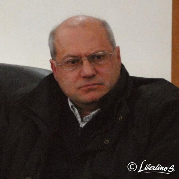 """Direttore del mensile """"La Piazza"""", Saverio Ciccarelli - foto Libertino"""