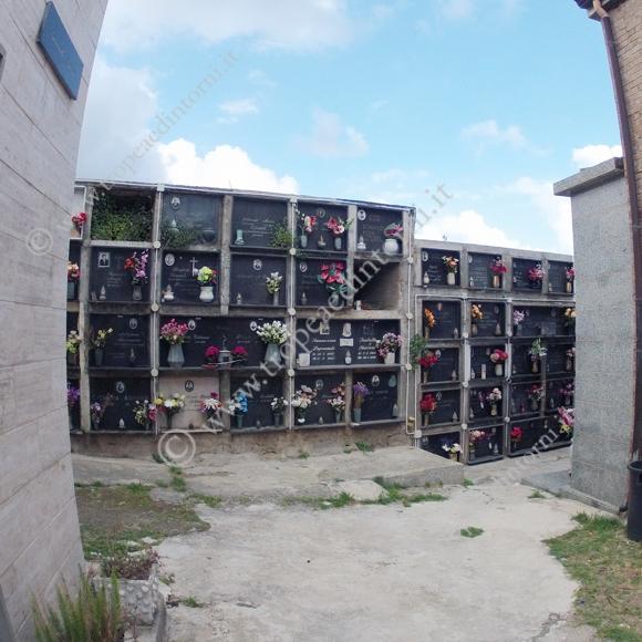 Cimitero Tropea: il luogo dell'agresione - foto Libertino
