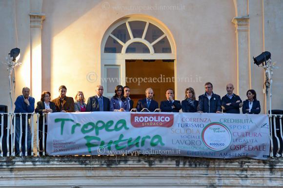 """Il comizio di Giuseppe Rodolico candidato a Sindaco per """"Tropea futura"""" - foto Libertino"""