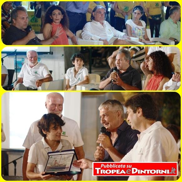 Il circolo Legambiente Ricadi, unitamente agli altri circoli vibonesi, ha festeggiato in piazza a Santa Domenica la trentesima edizione della Goletta Verde