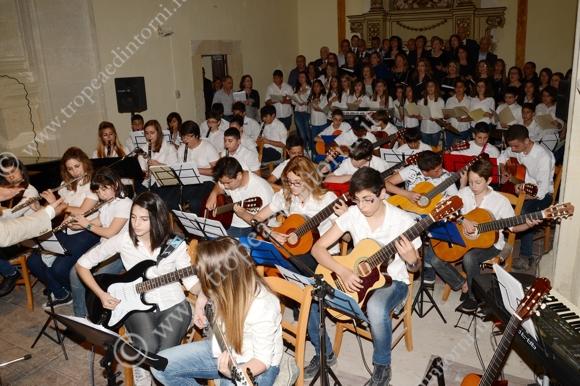 I ragazzi in concerto - foto Libertino