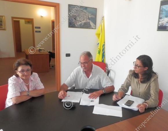 L'incontro con la stampa del 22 luglio 2014 - foto Carmelitano