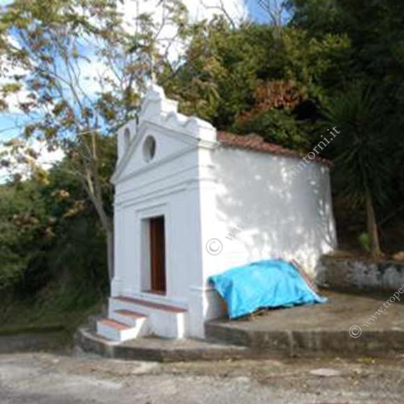 La cappella della Conicea in contrada Campo Superiore in Tropea - foto Libertino
