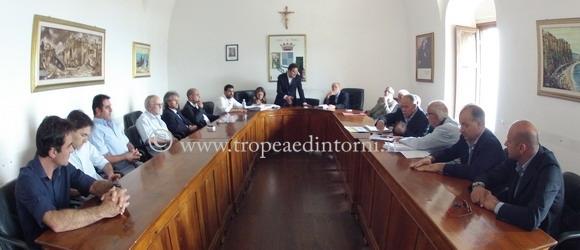 I Consiglio Comumale riunito - foto Libertino