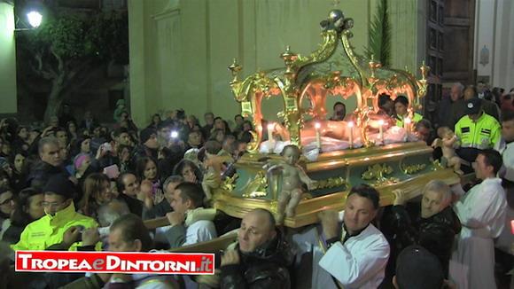Processione del Cristo Morto - Tropea del 18 aprile 2014 - foto Libertino