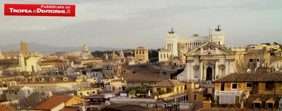 Dai tetti di Montecitorio