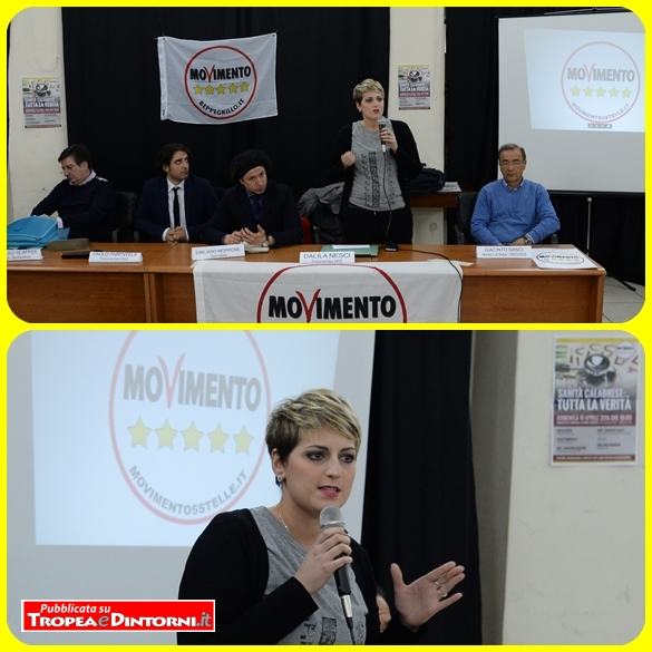 Dalila Nesci, Gianluigi Scaffidi, Giacinto Nanci, Emiliano Morrone - foto Libertino