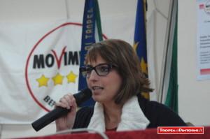 Dalila Nesci Deputata Movimento Cinque Stelle - foto libertino