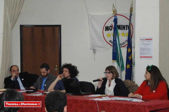 Francesco Molinari, Sebastiano Barbanti, Emiliano Morrone, Dalila Nesci, Melania Di Bella - foto Libertino