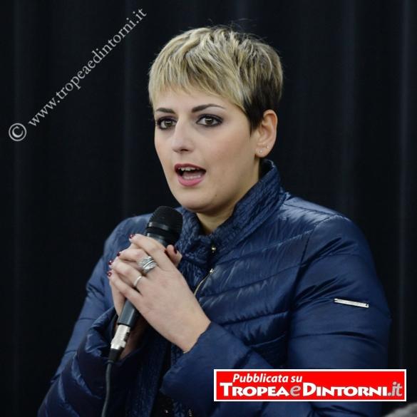 Dalila Nesci Cittadina 5 stelle – vicepresidente della commissione delle Politiche Ue – Commissione di Vigilanza Rai – foto Libertino