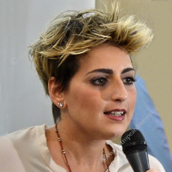 Dalila Nesci Cittadina 5 stelle - vicepresidente della commissione delle Politiche Ue . Commissione di Vigilanza Rai- foto Libertino