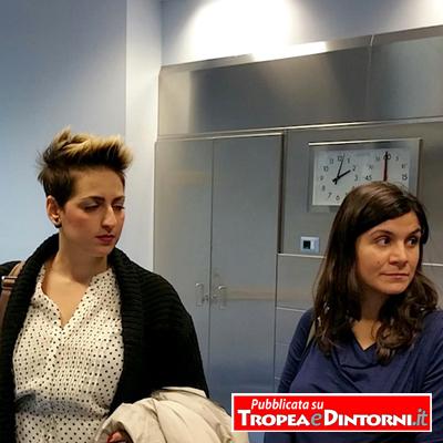 Le deputate M5s Dalila Nesci e Federica Dieni - Foto Cardio Reggio Calabria