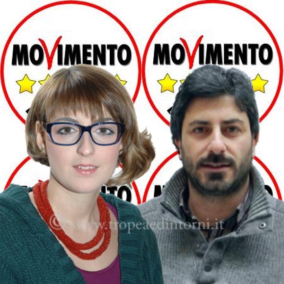 Parlamentari M5S, On. Dalila Nesci, On. Roberto Fico
